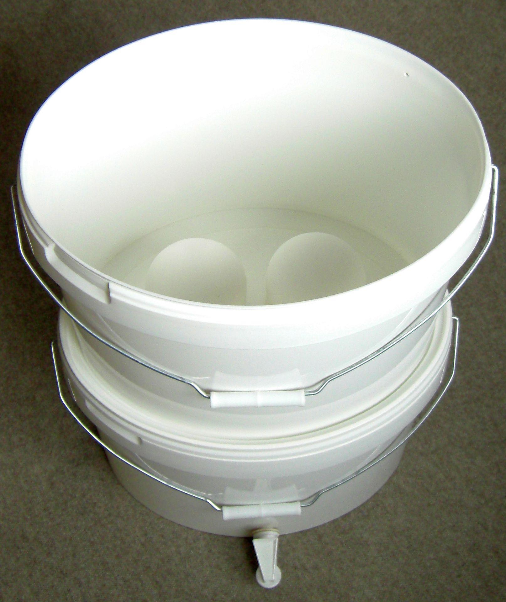 18Liter Kunststoffeimer oval